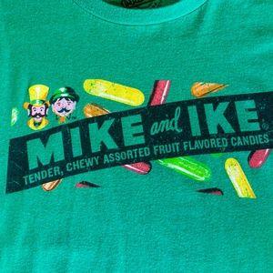 Vintage Shirts Mike Ike Candy Soft Green Tshirt Poshmark